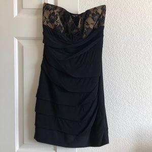 Ruby Rox Black Mini Dress